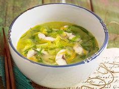 Soupe de salade verte, facile et pas cher