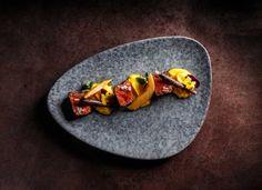 Venison Sirloin with Sweet Potato Puree