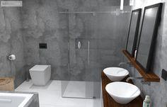 Technicky vypadající sprchový kout