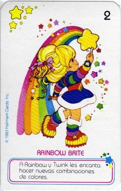 Cool Cartoons, Disney Cartoons, 80s Characters, Rainbow Birthday Party, Rainbow Wallpaper, Favorite Cartoon Character, Old Anime, Rainbow Brite, Vintage Cartoon
