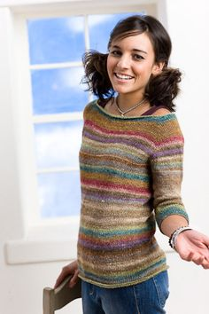 Equinox Raglan - Knitting Daily