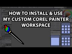 How To Install & Use My Custom Corel Painter Workspace - Photography İdeas,Photography Poses,Photography Nature, and Vintage Photography, Corel Painter, Vintage Photography, Photography Poses, Crooked Face, Types Of Painting, New Media, Art Tips, Animal Paintings, Photo Manipulation