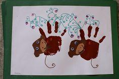Affe zeichnen