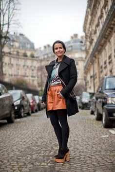 Street-Style Snaps From Paris Fashion Week