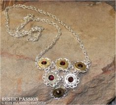 Siam Crystal 38 Special Bib Necklace Handcrafted jewelry, gifts, and soaps - Specializing in second amendment designs. 38 Special, Bullet Jewelry, Handcrafted Jewelry, Filigree, Jewelry Crafts, Passion, Rustic, Drop Earrings, Crystals