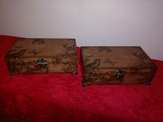 Suitcase, Decoupage, Briefcase