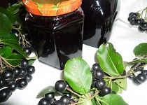 Medical jam from black crane – aronia – Wine World Dieta Detox, Edible Plants, Wine Storage, Kimchi, Eggplant, Food And Drink, Canning, Fruit, Vegetables