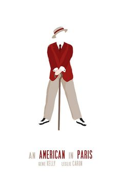 Alternative movie poster - An American in Paris. Gene Kelly <3