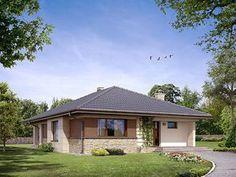 Aster MC projekt domu - Jesteśmy AUTOREM - DOMY w Stylu Gazebo, House Plans, Outdoor Structures, How To Plan, House Styles, Outdoor Decor, Home Decor, Houses, Projects