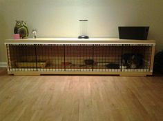 D oes your bunny need a new home? Check out our 9 DIY rabbit hutch ideas and find the best option for your furry friend. Give your bunny some cool digs made from repurposed furniture. Cabinets and ...