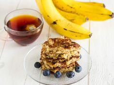 Banana and Peanut Butter Vegan Pancakes
