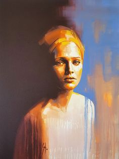 Selected Artworks by artist Solly Smook. Oil Portrait, Abstract Portrait, Oil Painting Portraits, Woman Portrait, Figure Painting, Painting & Drawing, Guache, A Level Art, Face Art
