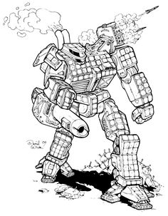Battletech Mecha part 3 by Mecha-Master.deviantart.com on @deviantART