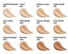 Rimmel London Match Perfection Foundation is SPF 18 and there are 12 shades available