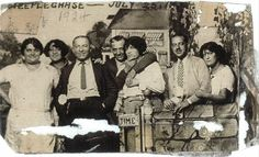 Foto (1924) : Fannie Roth, Sophia Roth, Joseph Roth, Max Silverstein, Lillian Roth, Siggie Krongold, Helen Roth