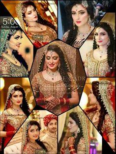 Beautiful bride. Ayeza khan