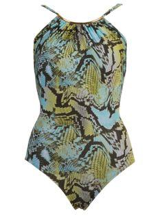 Shop LENNY NIEMEYER  python print swimsuit from Farfetch