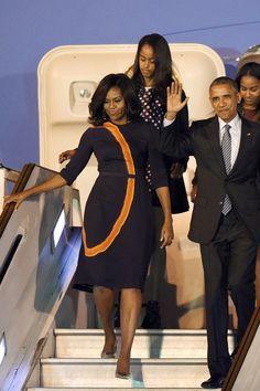 #44th #President Of The United States #BarackObama & #FirstLady Of The United States #MichelleObama #FirstDaughters Of The United States Malia & Sasha #Obama