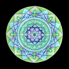 The Song Of The Soul from mandalafairy.com Mandalas & intuitive art by Timea Varga @Timea Biro Varga.