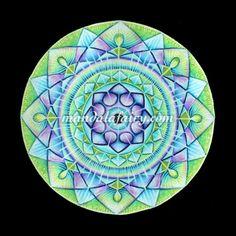 The Song Of The Soul from mandalafairy.com Mandalas & intuitive art by Timea Varga @Timea Biro Varga.