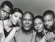 Roots cast members....Vereen, Uggums, Amos, Tyson, Lamar