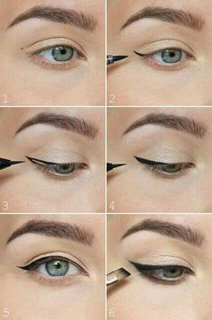 How to perfect winged eyeliner? Easy tips for winged eyeliner look! The most easiest way to do winged eyeliner. Source by Artekate The post How to perfect winged eyeliner? Easy tips for winged eyeliner look! appeared first on Best Of Likes Share. Winged Eyeliner Tricks, Perfect Winged Eyeliner, Eyeliner For Beginners, How To Apply Eyeliner, Makeup Tips For Beginners, Winged Liner, Eyeliner Liquid, Easy Eyeliner, Liquid Liner