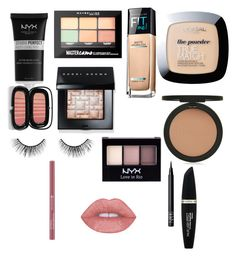 """""""Everyday makeup 💄"""" by brooke-mckeever on Polyvore featuring beauty, NYX, Maybelline, L'Oréal Paris, Topshop, Bobbi Brown Cosmetics, Marc Jacobs, NARS Cosmetics, tarte and Max Factor"""