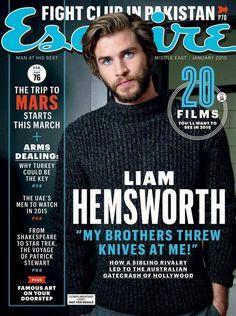 Liam Hemsworth para Esquire Middle East