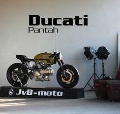 Cafe Racer (Ducati Pantah by JVB Moto's)