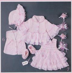 Moda Rehberiniz – Orgu Bebek Elbise Suslemeleri Ornekleri