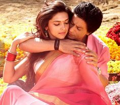 "Shahrukh Khan is making promise to Deepika of his eternal love for her in ""Tera Rasta Chhodoon Na"" song from Bollywood upcoming movie ""Chennai Express"" - Full HD Video + Lyrics"