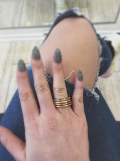 #tube 1 & 2 #rings and #sleeve #ring in #gold all stacked // #arianeernst #designer #fashion #jewelry #germany #düsseldorf