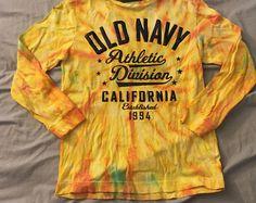 Old navy kids tie dye long sleeve shit medium