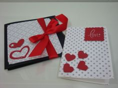 Mini álbum em scrapbook para namorados, bem romântico! Cartão para namorados. Oficina da Lolli