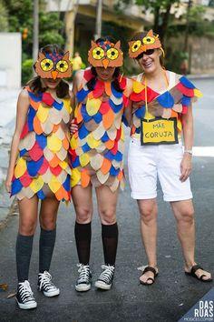 Fantasias Mãe e Filha   20 ideias criativas para Carnaval ou Halloween em família
