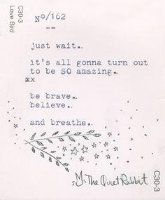 no.162 - just wait. #motivation #quotes