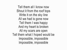 Impossible by Shontelle acoustic guitar instrumental cover with lyrics - ExssBox - Music - Видео Каталог