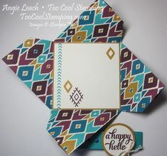 Bohemian pinwheel cards - blackberry hello4