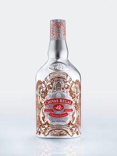 Butelka Chivas w kreacji Christiana Lacroix