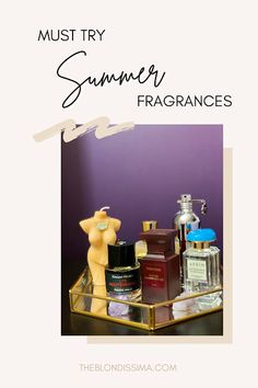 Must Try Summer Fragrances - The Blondissima Dark Nail Polish, Discovery Kit, Summer Scent, Perfume Samples, Just For Men, Travel Size Products, Fragrances, Squad, Blogging