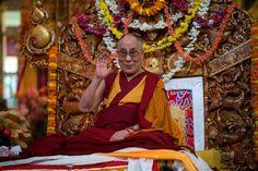His Holiness the 14th Dalai Lama.