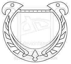 Skyward Sword Zelda's Harp Model by Lya-Yuki.deviantart.com on @deviantART