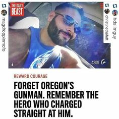 I don't even know his name but this man is what you call a hero. Btw apparently the shooter targeted Christians.  #freedomlegion #jointhelegion #religiousfreedom #christians #christ #jesus #proudchristian #standforchrist by thefreedomlegion