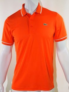 Lacoste ultra dry performance men's polo size small EU 3 NEW on SALE #Lacoste #Polo