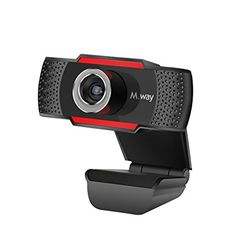 HD USB Webcam, M.Way HD 720P Rotatable PC Computer Camera Video Calling and Recording with Noise-canceling Mic, Clip on Style For Desktop Laptop Network Skype