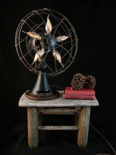 $300...Hey, I found this really awesome Etsy listing at https://www.etsy.com/listing/201621292/table-lamp-upcycled-vintage-electric-fan