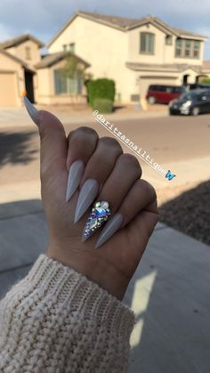 In search for some nail designs and ideas for the nails? Here's our list of 23 must-try coffin acrylic nails for fashionable women. Stiletto Nail Art, Cute Acrylic Nails, Acrylic Nail Designs, Nail Art Designs, Dope Nails, Fun Nails, Gorgeous Nails, Pretty Nails, Amazing Nails