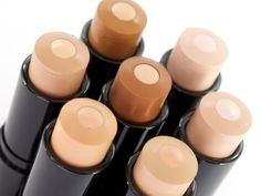 """Maybelline: Fit Me Shine-Free Foundation. """"This new stick foundation...has a unique gel formula with an anti-shine serum core. It applies smoothly and evenly...sheer"""""""