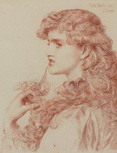 "Anthony Frederick Augustus Sandys (1829-1904), ""Proud Maisie"" 1903 by sofi01, via Flickr"