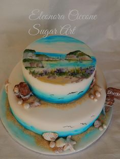 Painted cake!!!